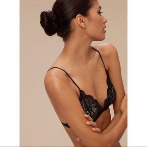 04cd41be78a1b Aritzia Intimates   Sleepwear - Aritzia Wilfred Monterey Lace Bralette Size  Small